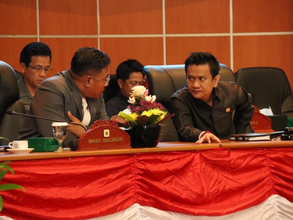 RAPAT PARIPURNA DPRD KOTA DEPOK DALAM RANGKA PEMBUKAAN MASA SIDANG II DIAWAL TAHUN 2019